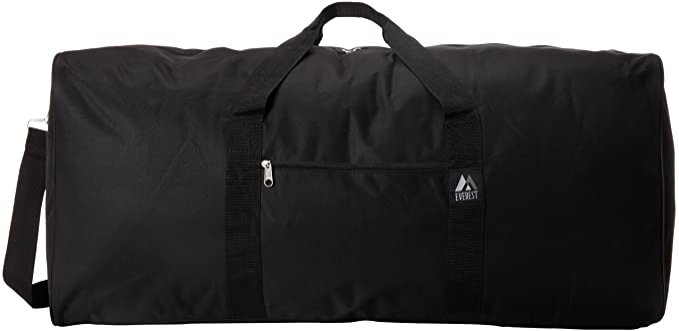 Everest Sports Duffel Black Large One Size