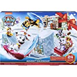 Paw Patrol, 2019 Advent Calendar with 24 Collectiblepiece, for Kids Aged 3 & Up