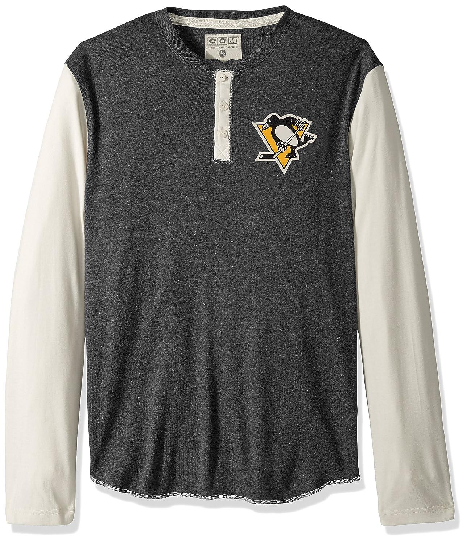 adidas NHL Mens CCM L S Henley
