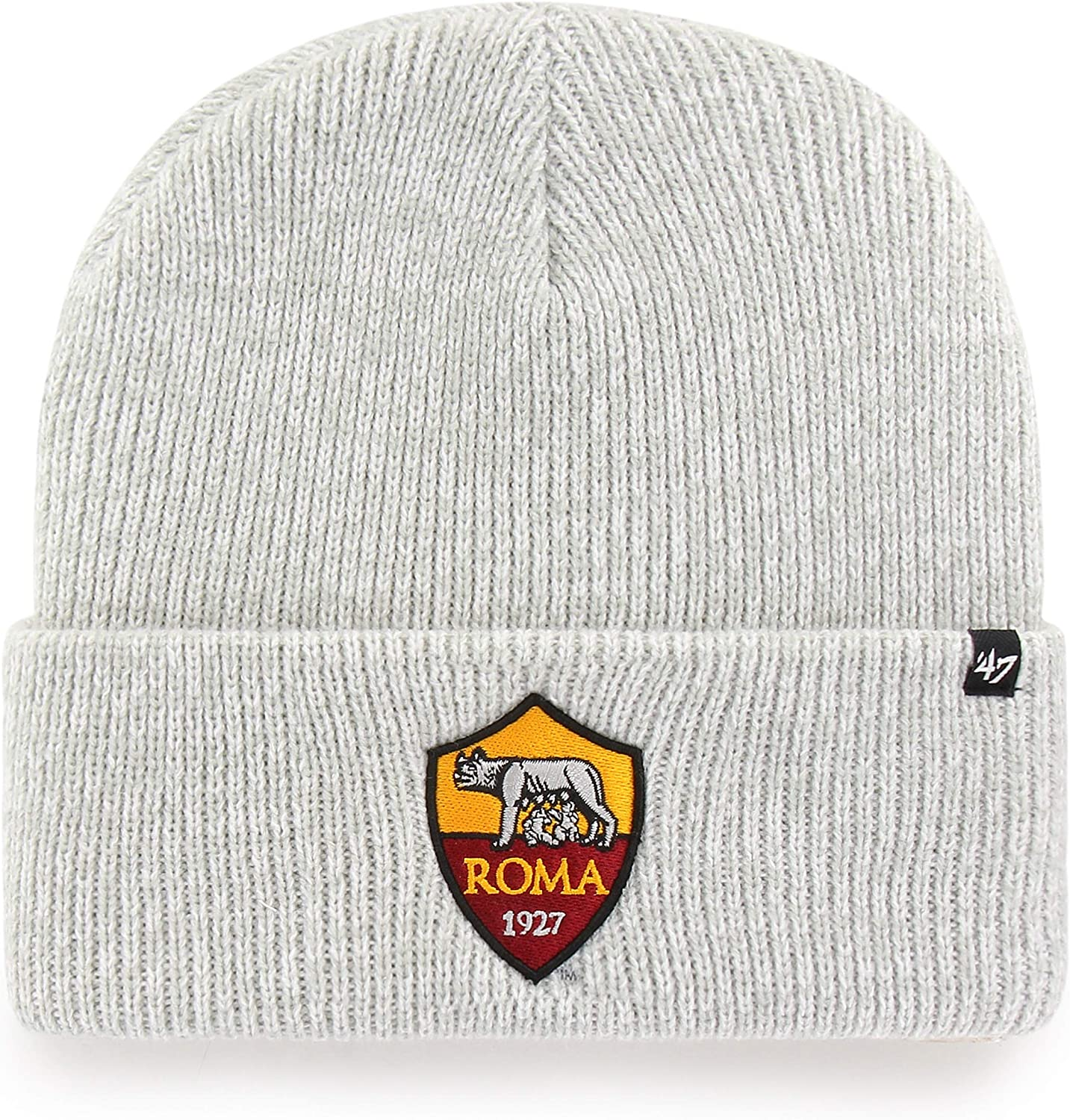 Adulto Knitted Hat Unisex Brain Freeze Cuff Knit AS Roma