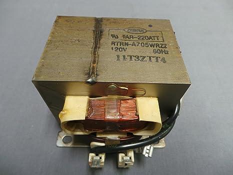GE rtrn-a705wrzz microondas transformador: Amazon.es ...