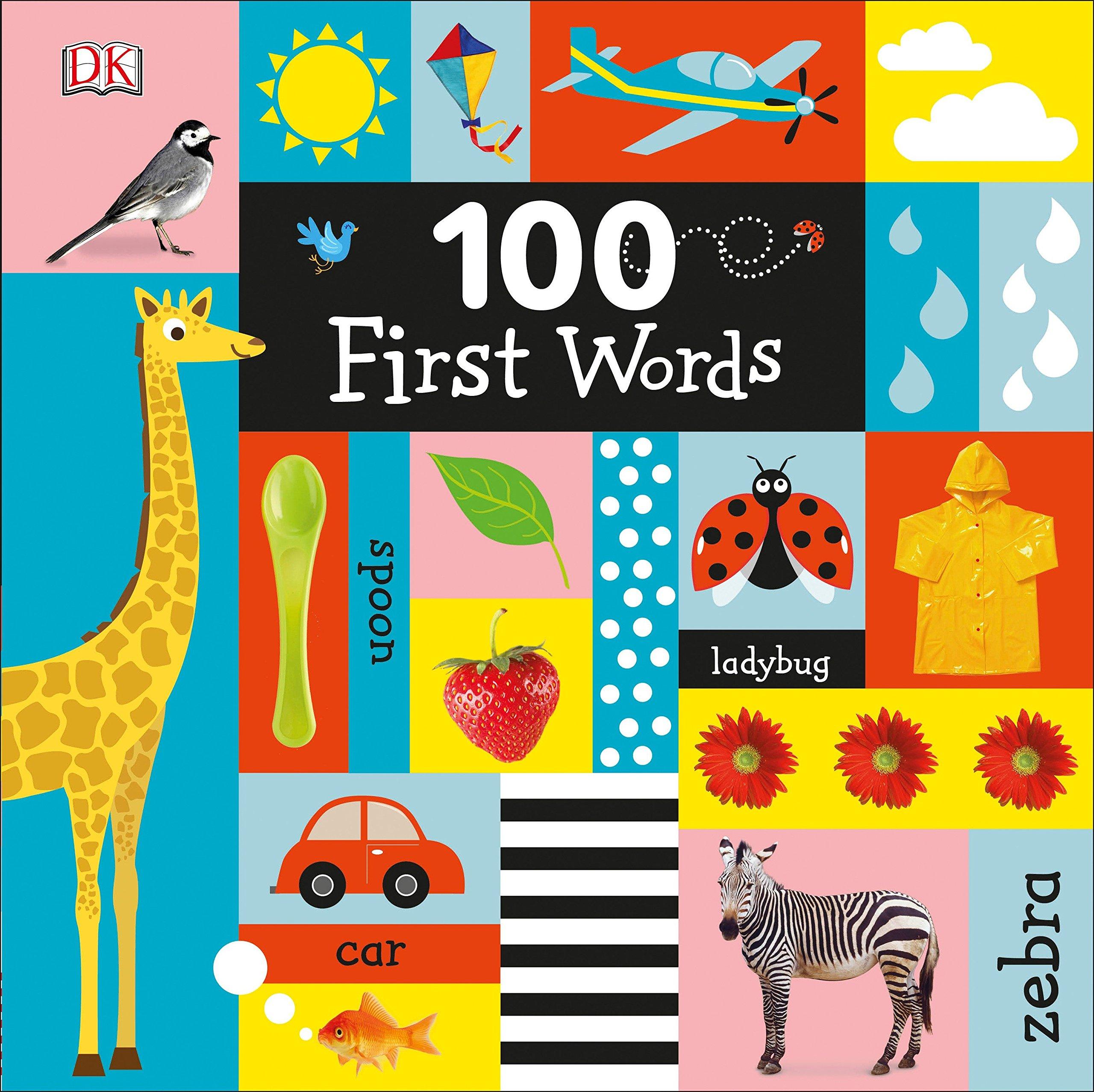 100 First Words: DK: 9781465457004: Amazon.com: Books