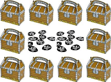 Amazon.com: Pirata Treasure – Caja de tratamientos y ...