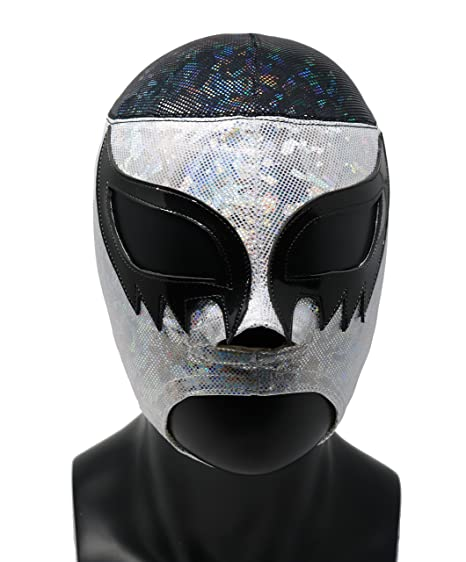 Amazon.com: Cien Caras Professional Lucha Libre Wrestling Mask (Premium Quality). Mascara Profesional Lucha Libre (Modern): Clothing