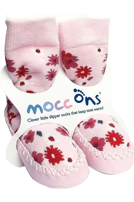 Mocc Ons Sneaker Socks: Baby