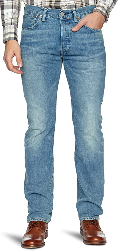 jean levis 501 Originals bleu brut marlon coupe droite
