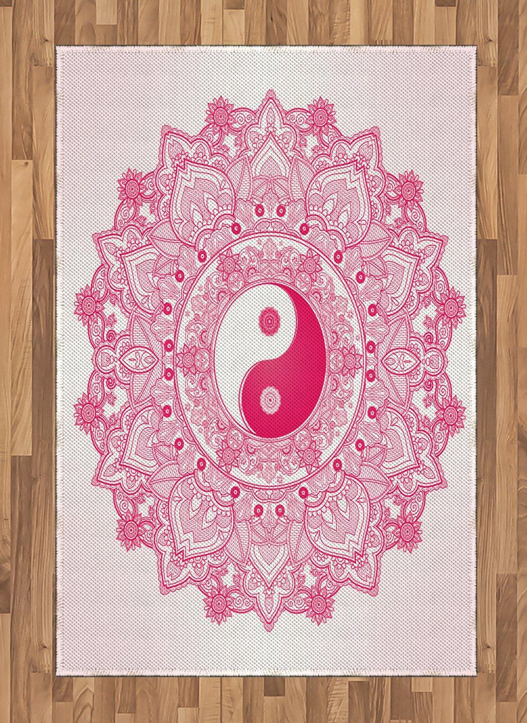 Amazon Ambesonne Ying Yang Area Rug Traditional Mystical Yin