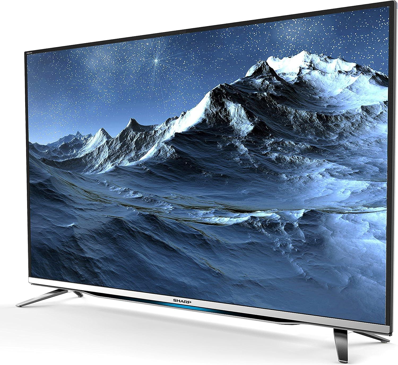 Sharp lc-40cfe6452e 101 cm (40 pulgadas) televisor (Full HD, sintonizador triple, SmartTV): Amazon.es: Electrónica
