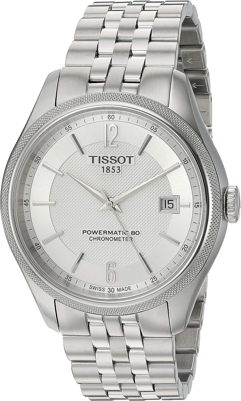 Tissot Mens Ballade Swiss Automatic Stainless Steel Dress Watch (Model: T1084081103700)