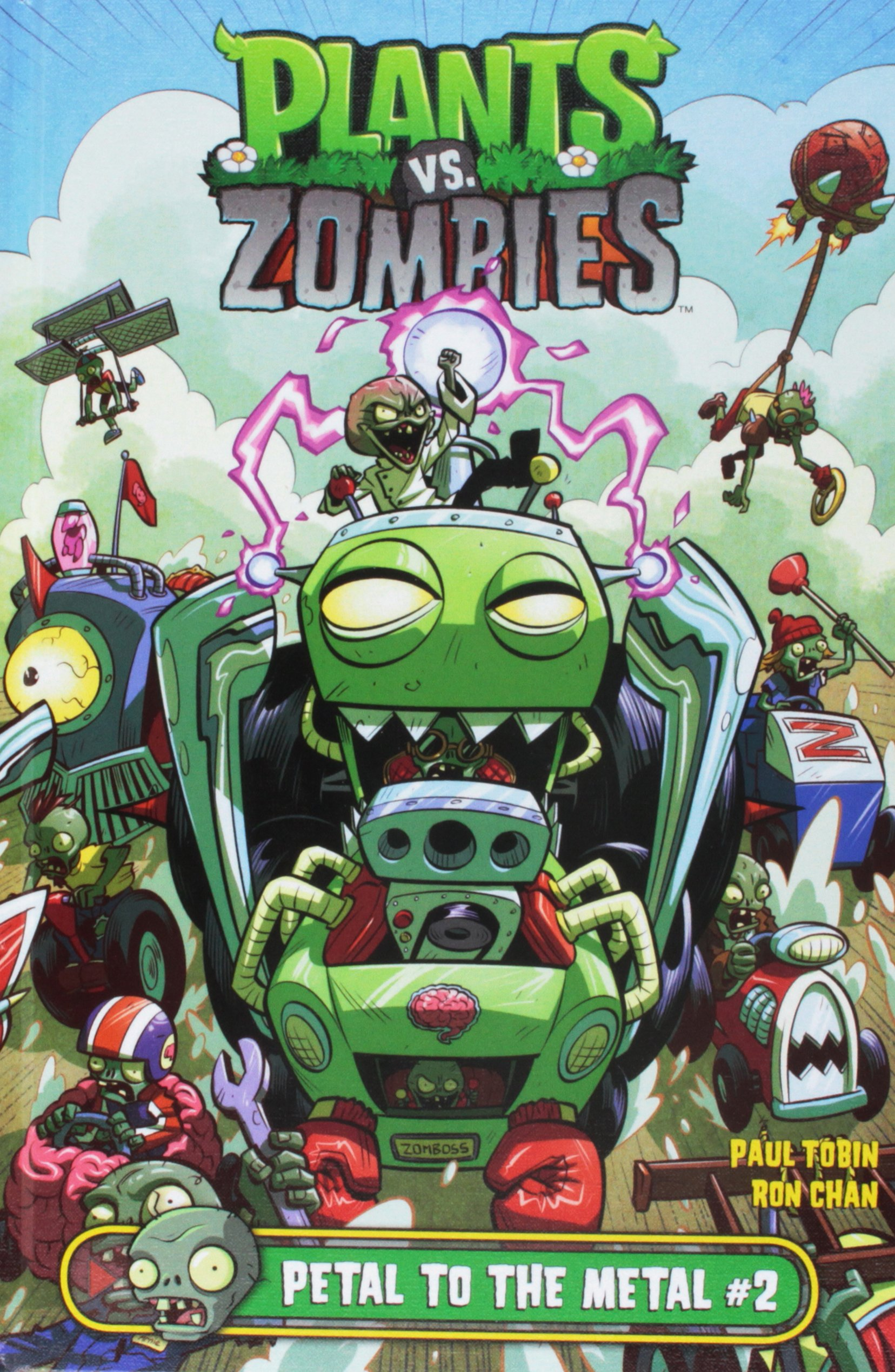 Plants Vs. Zombies Petal to the Metal 2: Paul Tobin ...