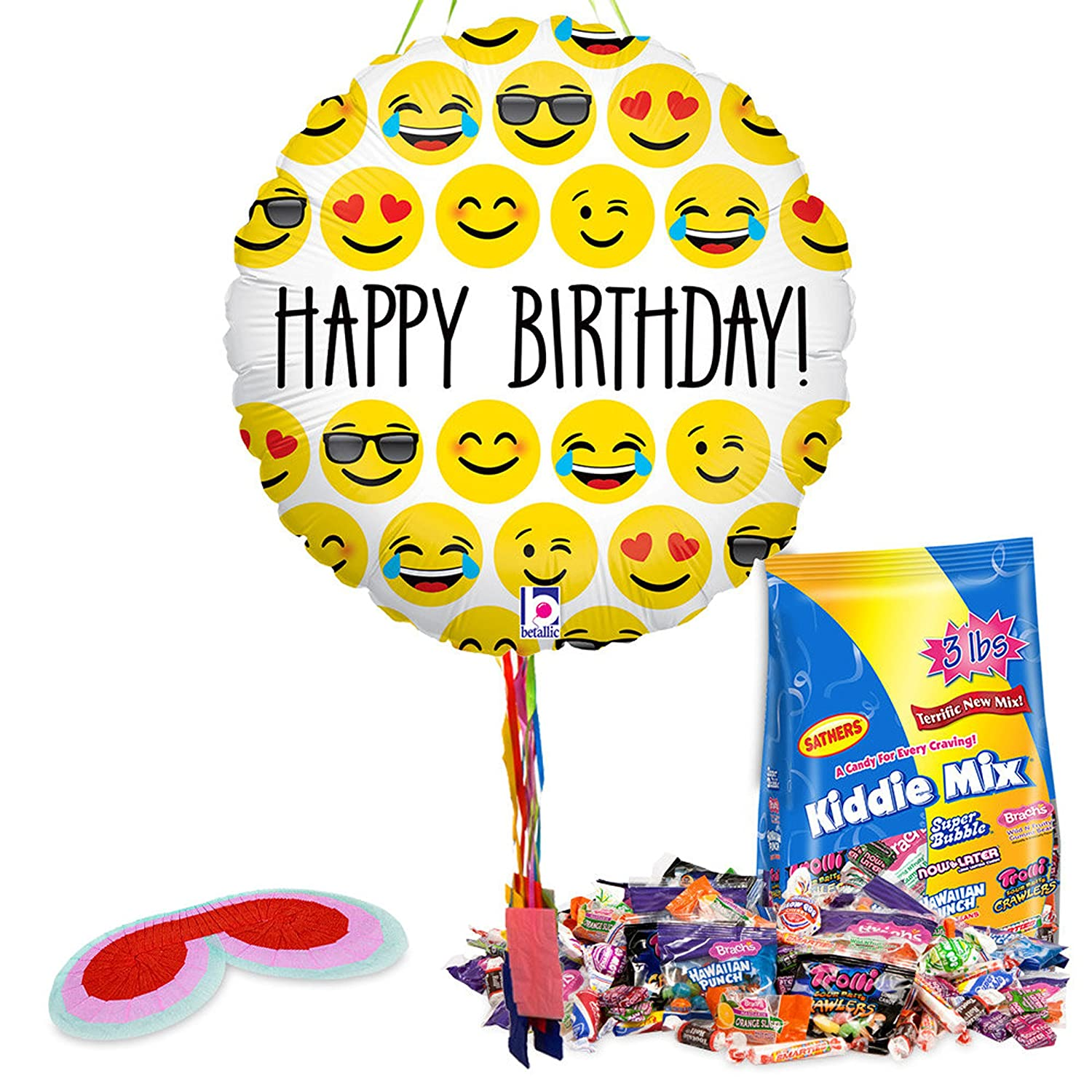 Emoji Piñata with Pull String