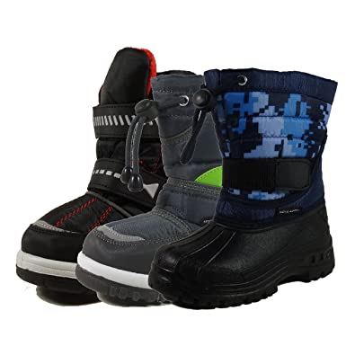 Amazon.com | Nova Toddler Boy's Winter Snow Boots (Size 6-11 ...