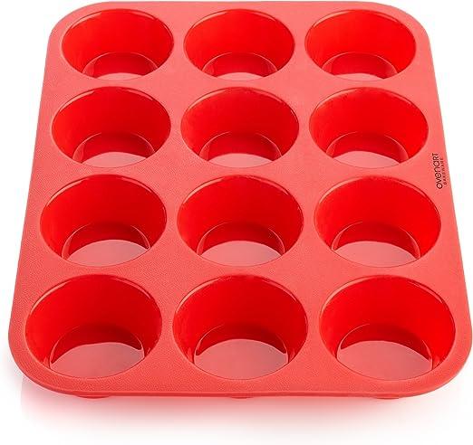 Amazon.com: OvenArt Bakeware charola de silicona con molde ...