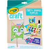 Crayola Craft Confetti Party Poppers, Animal Craft for Kids, Gift for Kids, Ages 5, 6, 7, 8