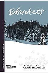 Graphic Novel Paperback Blankets Paperback