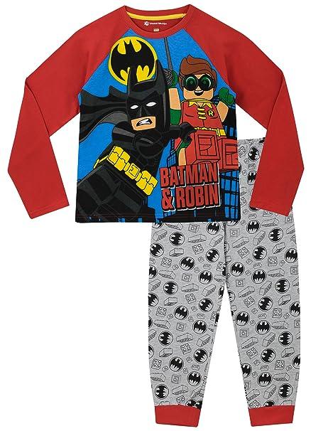 Lego Batman - Pijama para Niños - Batman y Robin - 4 - 5 Años