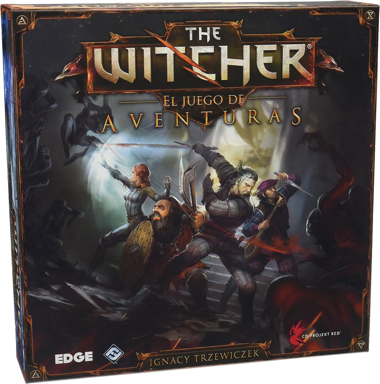 The Witcher: el juego de aventuras - Juego de Mesa (Edge ...