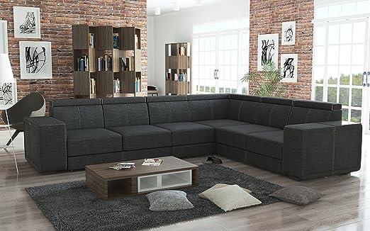 Sofá Muebles de Sofá (sofá CARI en Boss 12 acolchado esquina ...