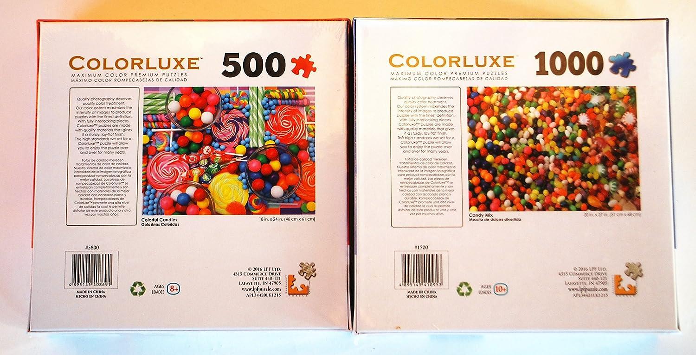 Candy Puzzle Bundle 2 Puzzles LPF LTD. Candy Candy