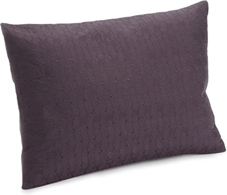 Calvin Klein Elm Embroidered Bud 12 X16 Pillow Wild Plum Home Kitchen