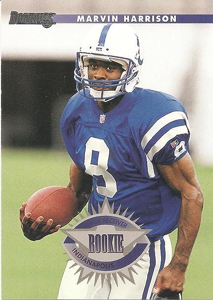 Amazoncom 1996 Donruss 235 Marvin Harrison Rookie Card
