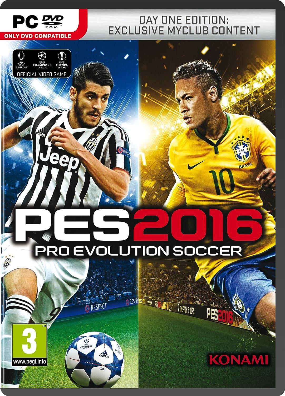 Pro Evolution Soccer 2016 Day 1 Edition (PC DVD): Amazon co