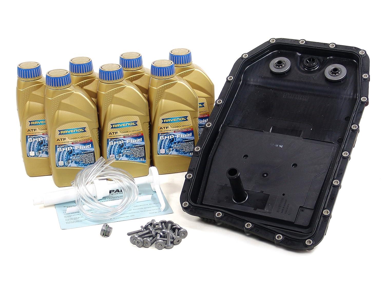 Blau f2 a1313-d Bmw 645i ATF自動Transmission Fluidフィルタキット – e64 – 2004 – 05 W / 6速度自動ga6hp26z B01FRADCCK