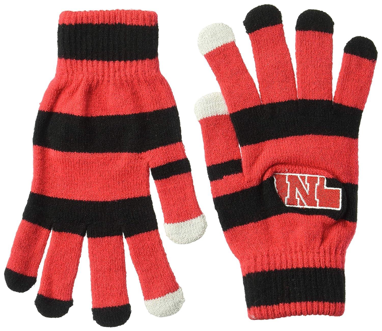 FOCO College Unisex Stripe Knit Glove