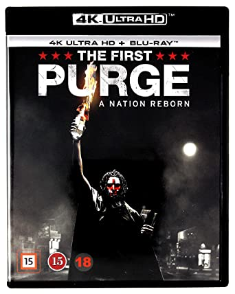 The First Purge 4K UHD Blu-Ray Region Free IMPORT No hay versión ...