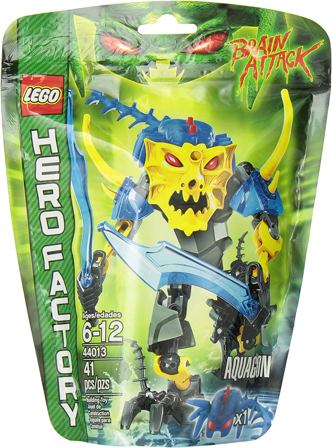 Lego 44013 Hero Factory Aquagon Action Figure Playset