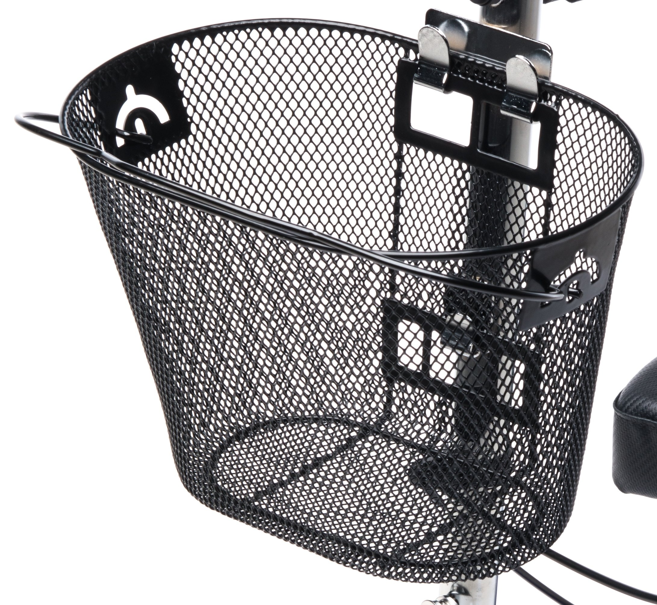 Knee Walker Basket Accessory - Replacement Part with Quick Release and Convenient Handle - INCLUDES ATTACHMENT BRACKET - Compatible with Most Knee Scooters