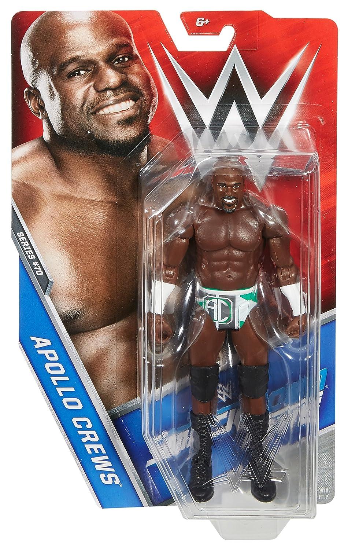 WWE Basic Apollo Crews Figure Mattel DXF79