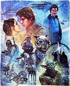 "Disney Star Wars, ""Empire Strikes Back"" Silk Touch Throw Blanket, 50"" x 60"", Multi Color"
