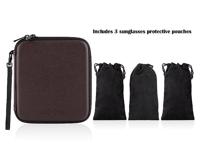 Amazon.com: Organizador de viaje para gafas de sol con ...
