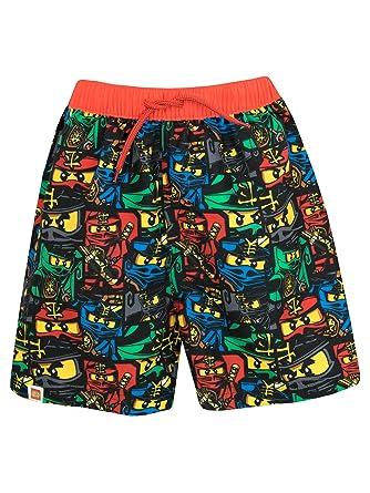2a3530bfa6c07 LEGO Boys Ninjago Swim Shorts: Amazon.co.uk: Clothing