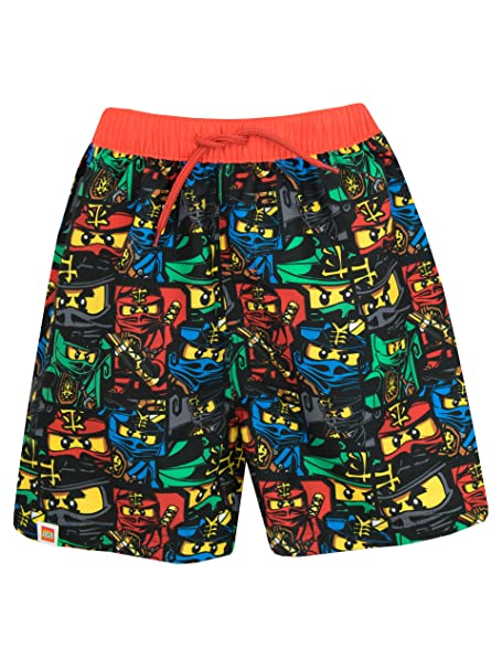276f7174b9 Amazon.com: LEGO Ninjago Boys Ninjago Swim Shorts: Clothing