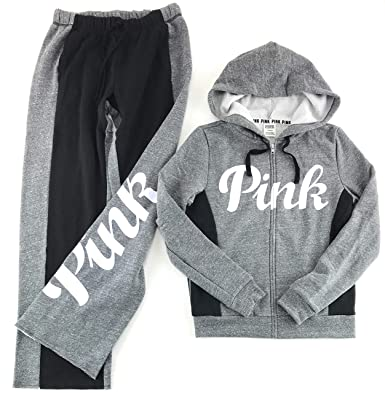 3af0289284408 Victoria's Secret PINK Hoodie and Sweat Pants Set at Amazon Women's ...