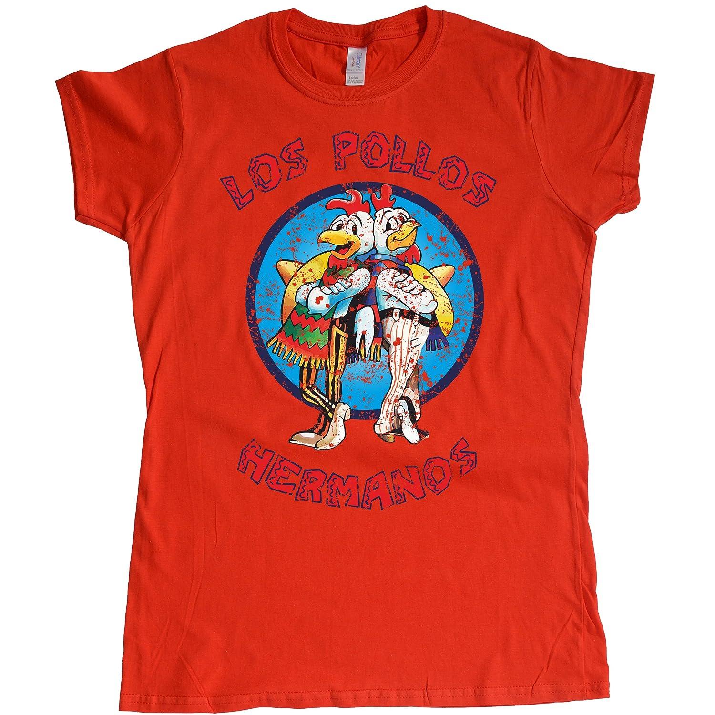Stooble Womens's Los Pollos Hermanos T-Shirt Stooble - 1ClickPrint