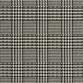 Amazon Com A940 Classic Black And White Houndstooth Woven Jacquard