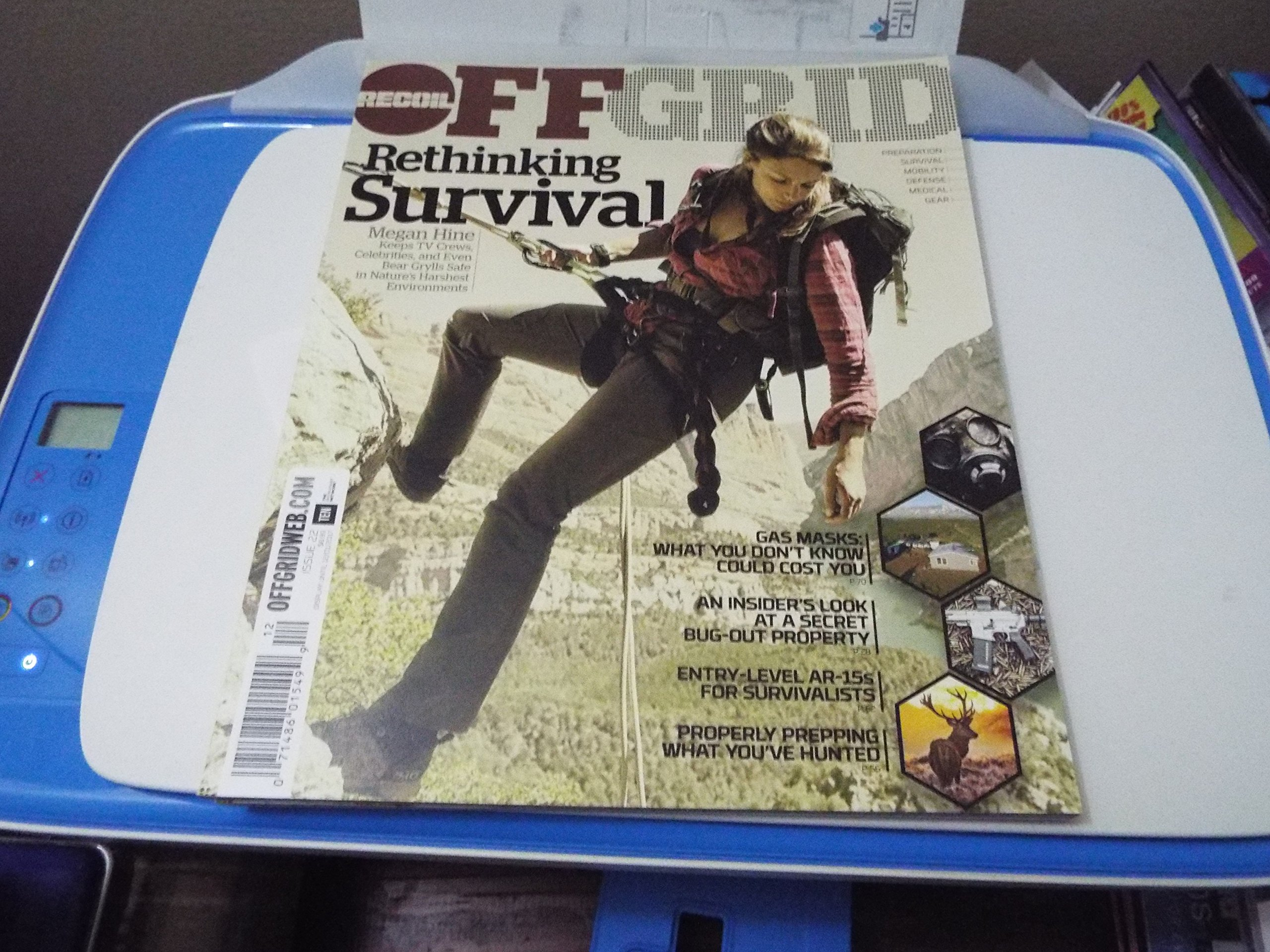 Recoil Off Grid Magazine Issue 22  Rethinking Survival ebook