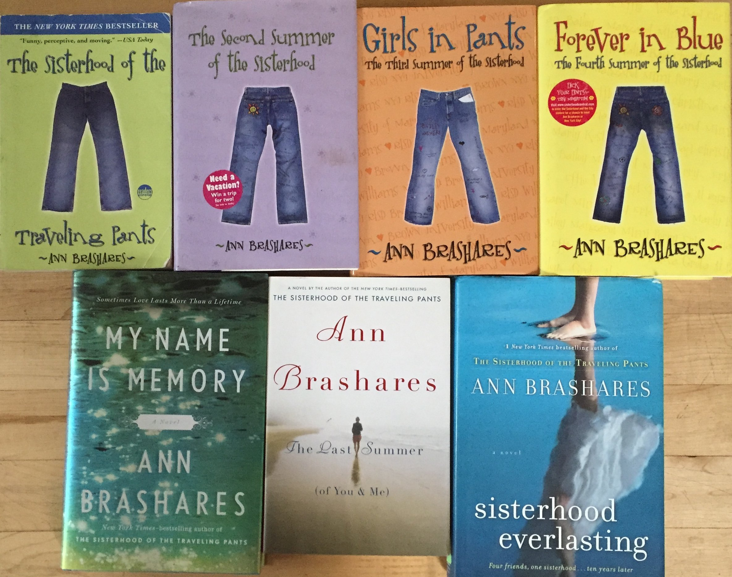 The Sisterhood Of The Traveling Pants Book