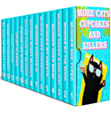14 BOOK SET: MORE CATS , CUPCAKES AND KILLERS (English Edition)