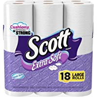 2-Pack Scott Extra Soft Toilet Paper (Large, 18 Rolls)