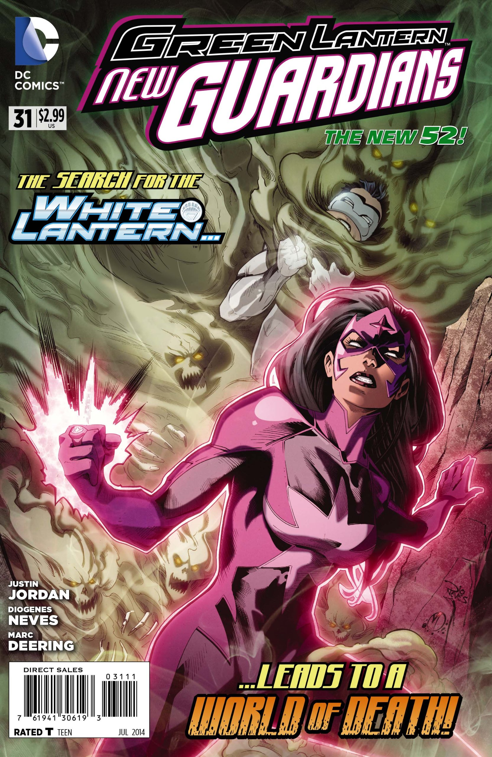 Green Lantern New Guardians #31 pdf
