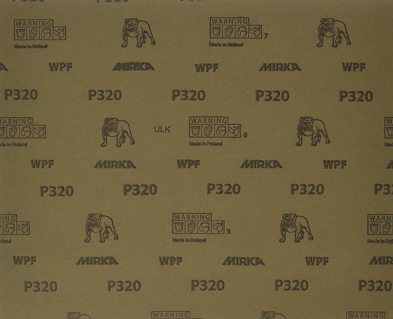 9 x 11 9 x 11 Mirka 21-104-P320 Waterproof Finishing Sheet