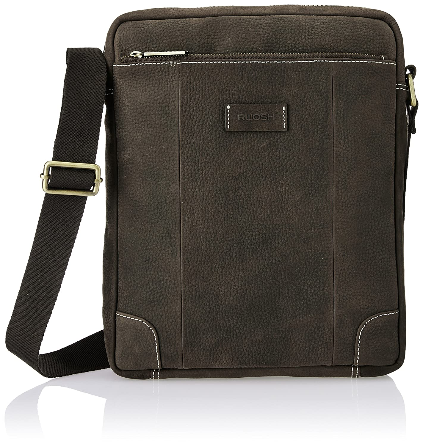 2d88868f1488 Ruosh Leather Brown Messenger Bag (551200102)  Amazon.in  Bags ...