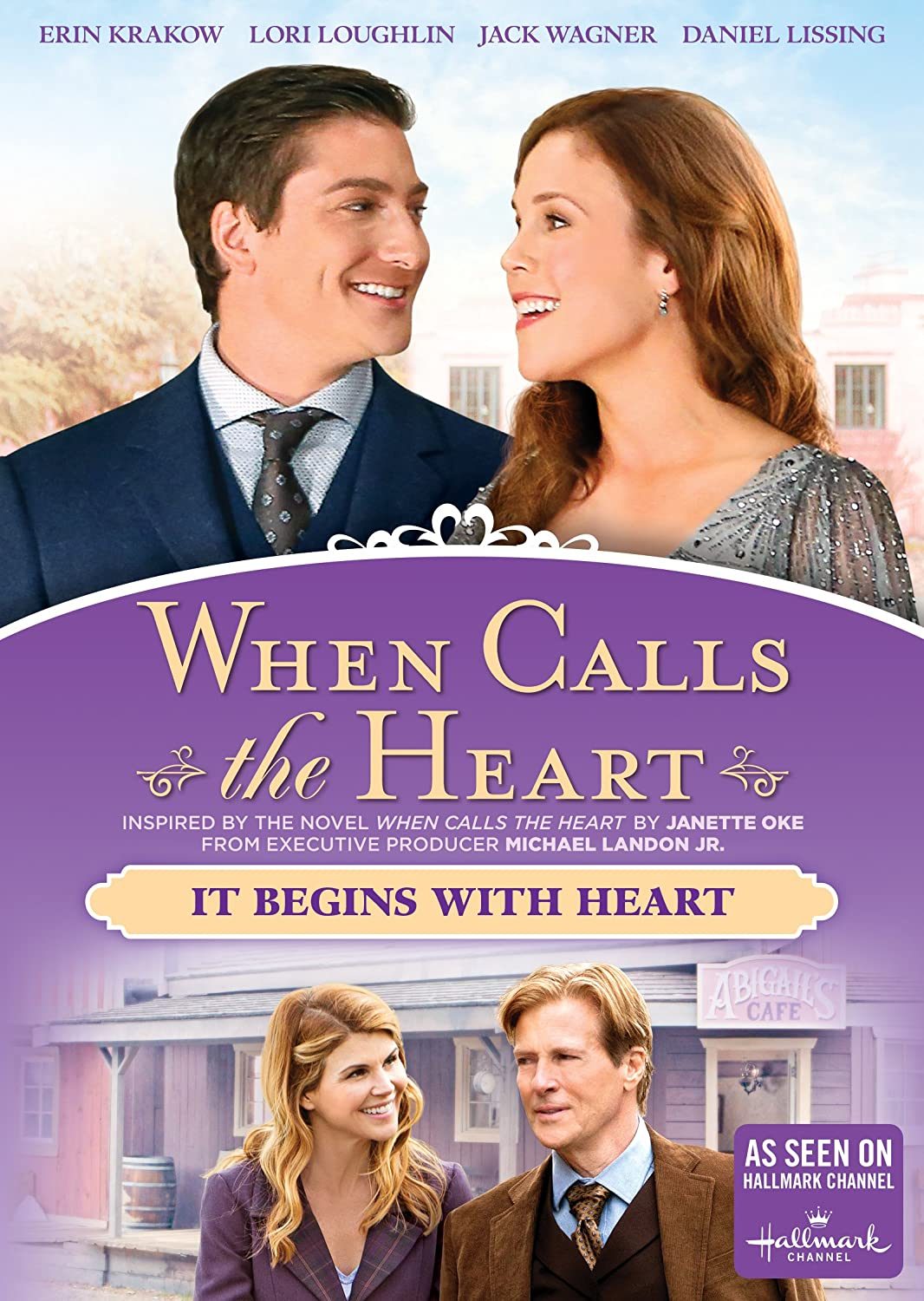 When calls the heart: it begins with heart - DVD Image