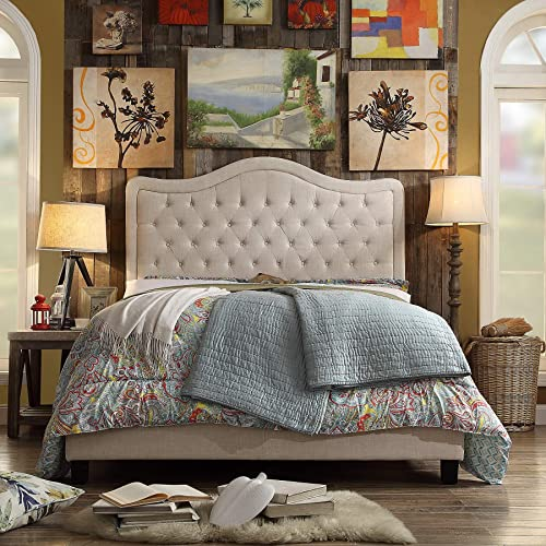 Rosevera R731A37 Turin Upholstered Panel Bed