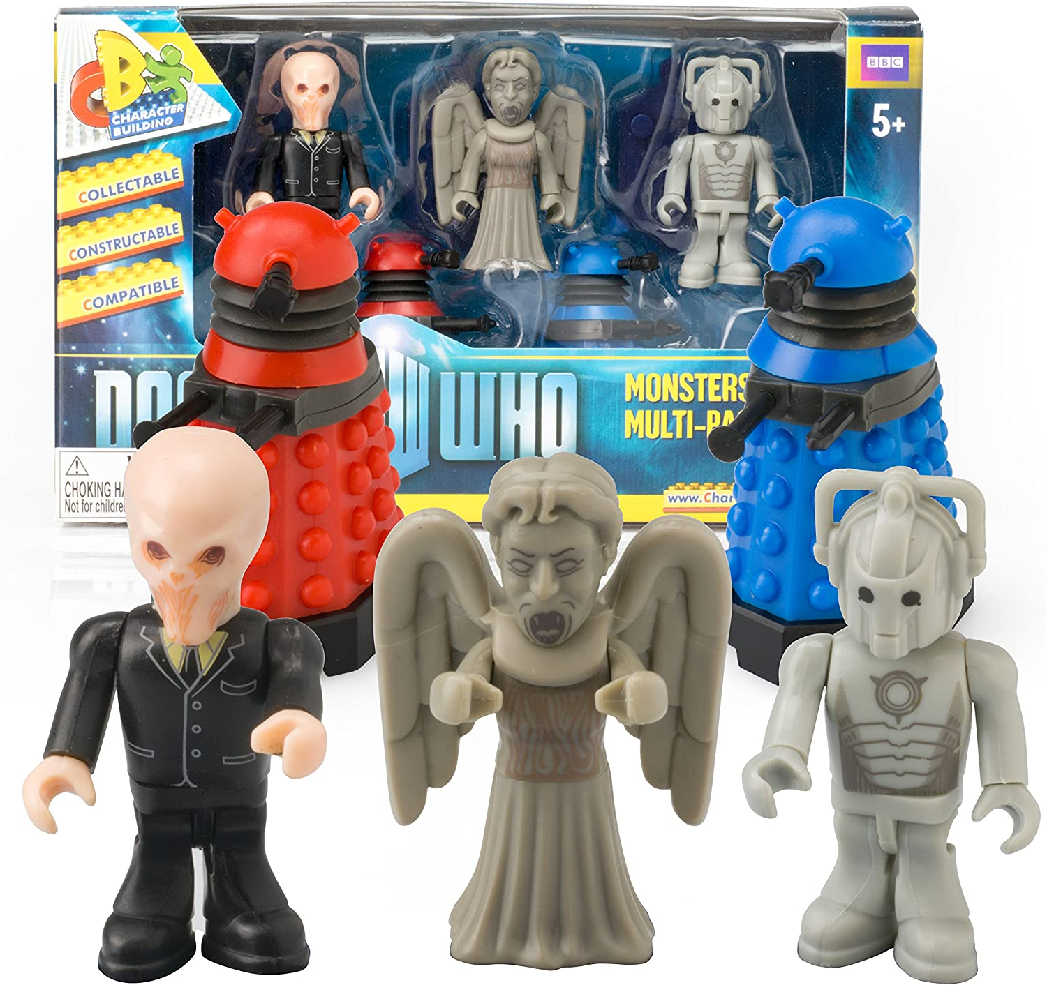 Doctor Who Character Building Monsters Multi-Pack