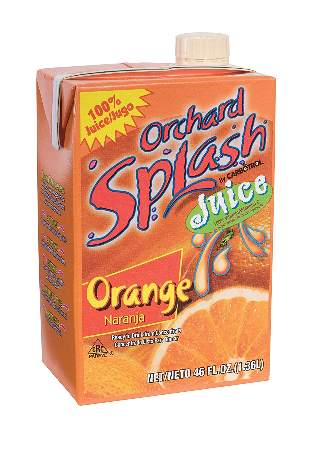 Amazon.com : Juice Leahy IFP 100 Percent Orange Ready To Serve 12 Case 46 Ounce : Fruit Juices : Grocery & Gourmet Food